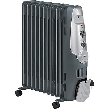 AEG RA 5522 - Radiador de aceite, 2200 W, 11 elementos, termostato ...