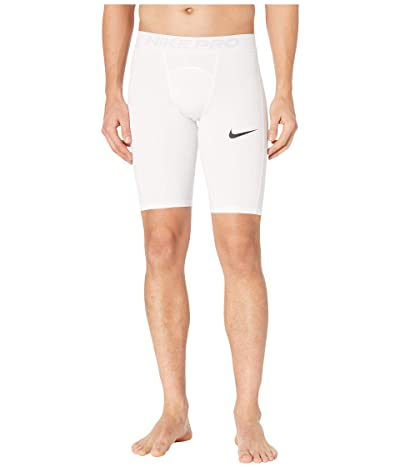 Nike Nike Pro Shorts Long (White/Black) Men