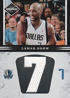 2011-12 Limited Jumbo Jersey Number #20 Lamar Odom /99 Dallas Mavericks