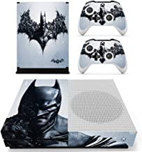 Adventure Games - XBOX ONE S - Batman, Bat Symbol - Vinyl Console Skin Decal Sticker + 2 Controller Skins Set