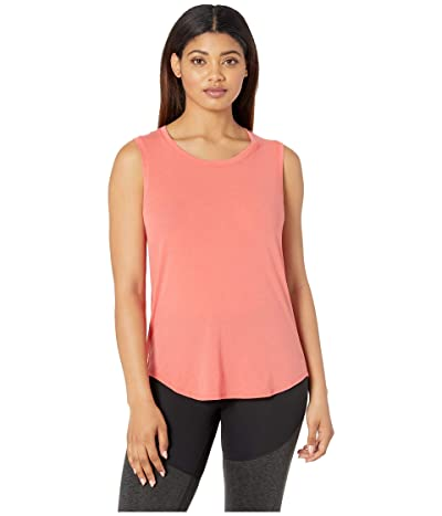 The North Face Workout Muscle Tank Top (Spiced Coral) Women