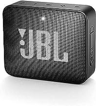JBL GO 2 kleine Musikbox in Schwarz – Wasserfester, portabler Bluetooth-Lautsprecher..