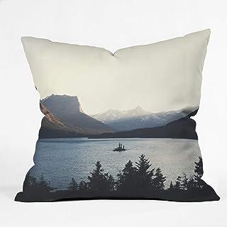 "Deny Designs Throw Pillow, 16"" x 16"", Montana Dusk"