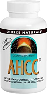 AHCC 500 mg w/Bioperine Source Naturals, Inc. 60 Caps