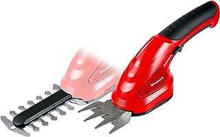 Einhell GC-CG 3.6 LI 70mm 3.6V Ión de litio Rojo tijera de césped inalámbrica - Tijera de podar (7 cm, 10 cm, 8 ml, 8 mm, Beige, Rojo, Ión de litio)