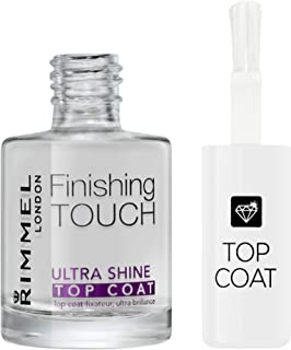 Rimmel Finishing Touch Ultra Shine Top Coat Nail Polish, 12 ml