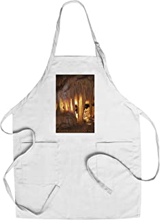 Mammoth Cave, Kentucky - Drapery Room (Cotton/Polyester Chef's Apron)