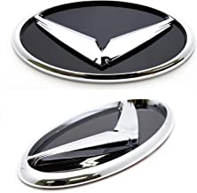 LIGHTKOREA Front Rear 3D Eagle Chrome Emblem Badge Set for Kia Cerato Forte Sports GT 2018 2019 2020