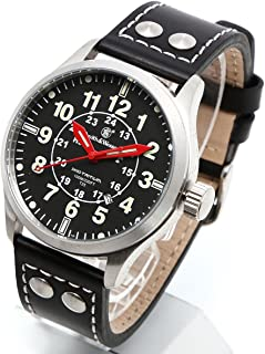 [Smith & Wesson]スミス&ウェッソン ミリタリー腕時計 MUMBAI LAMPLIGHTER WATCH BLACK/SILVER SWW-GRH-1 [正規品]