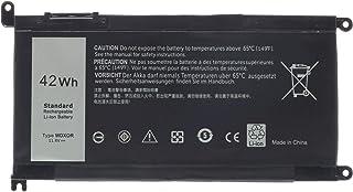 WDX0R - Batería para portátil Dell Inspiron 15 5565 5567 5568 5578 7560 7570 7569 P58F 13 5368 5378 7368 7378 Inspiron 14 7000 7460 17 5000 Series WDXOR FC92N 3CRH3 T2JX4 CYMGM
