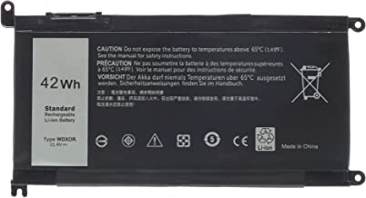 WDX0R Battery Replacement for DELL Inspiron 15 5565 5567 5568 5578 7560 7570 7579 7569 P58F Inspiron 13 5368 5378 7368 7378 Inspiron 17 5765 5767;P/N:FC92N 3CRH3 T2JX4 CYMGM