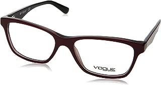 Vogue VO2787 Eyeglass Frames 2584-53 - Top Dark Red/red Transp VO2787-2584-53