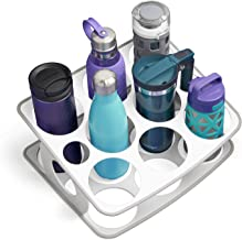 YouCopia 50068 BottleStand Travel Mug and Water Bottle, One Size, White