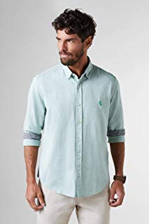 Camisa Regular Chambray Inv18 Reserva