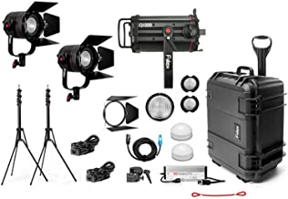 Fiilex X314 Gaffer's Kit, 1 x Q1000-DC, 2 x P360 Pro Plus LED Lighting Kit