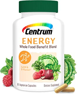 Centrum Energy Supplement, B-Vitamins(Vitamin B-6, Vitamin B-12) Support Energy and Metabolism, with Whole Food Blend, 30 ...