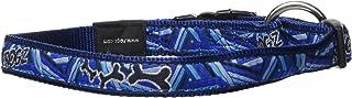 Rogz Fancy Dog Collar, Navy Zen Large