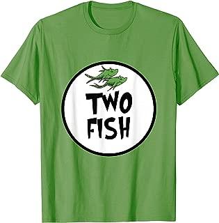 Cute Rhyming Two Fish T-shirt | Group Matching Costume