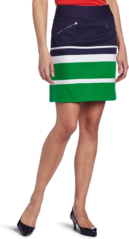 Anne Large-scale sale Klein AK Women's Max 77% OFF Mini Skirt Colorblock