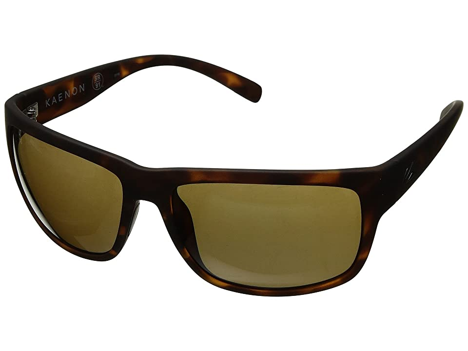 1d19674a7272 Kaenon Redding (Tortoise Matte Grip Ultra Brown 12-Polarized) Athletic  Performance Sport Sunglasses