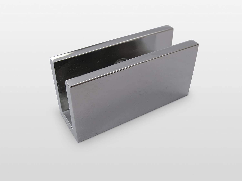 Amazon Com 78 X 28 Frameless Glass Shower Door Single Panel Brushed Nickel Trim Finish Home Kitchen