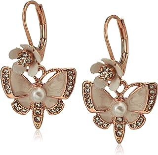 Butterfly Drop Earrings
