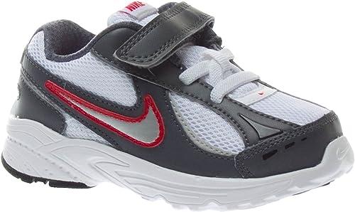Nike - Incinerate (TDV) Turnschuhe Laufschuhe Weißs grau rot - Weißs, 22,5