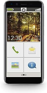 """Emporia emporiaSMART.3mini S3m_001 Smartphone (5"""" Quadcore CPU Micro SIM 2 GB RAM 16 GB Android 9.0) Svart"""
