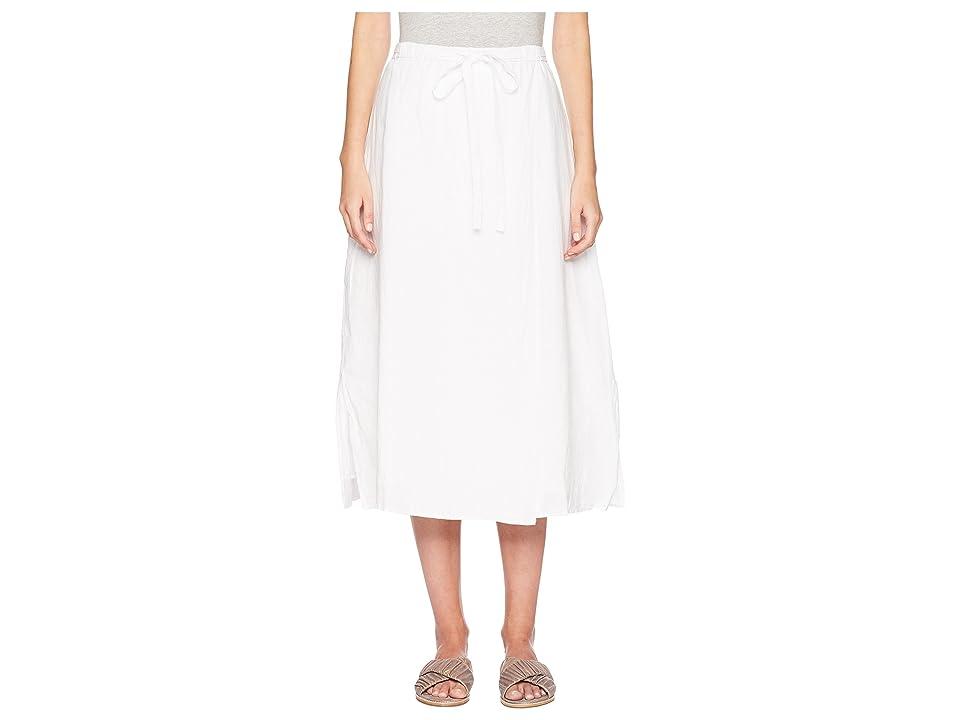 Eileen Fisher Wrap F/L Skirt (White) Women