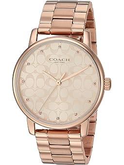 코치 그랜드 시계 COACH Grand,Rose Gold