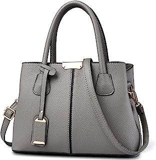 VARLIVOO Elegant Damen Handtasche Schultertasche Frauen Umhängetasche Taschen Shopper Wasserdicht Kunstleder Henkeltaschen