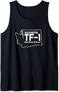 Urban Search & Rescue Washington Task Force 1 WA-TF1 Uniform Tank Top