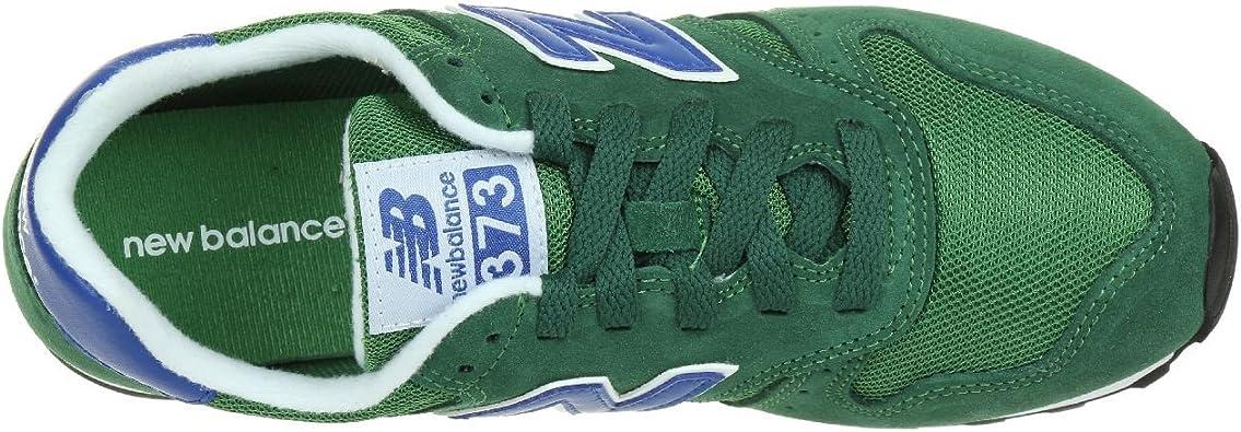 New Balance 373, Sneaker Uomo, Verde (Suede/Mesh Green), 42.5 EU ...