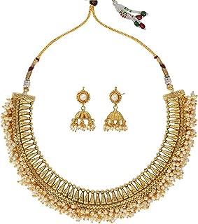 Ethnic Indian Artisan Jewelry Set Traditional Necklace Set