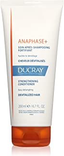 Ducray Anaphase+ Strengthening Conditioner, Biotin, Hydrolyzed Wheat Proteins, Thinning, Weak, Fine Hair, 6.7 oz.