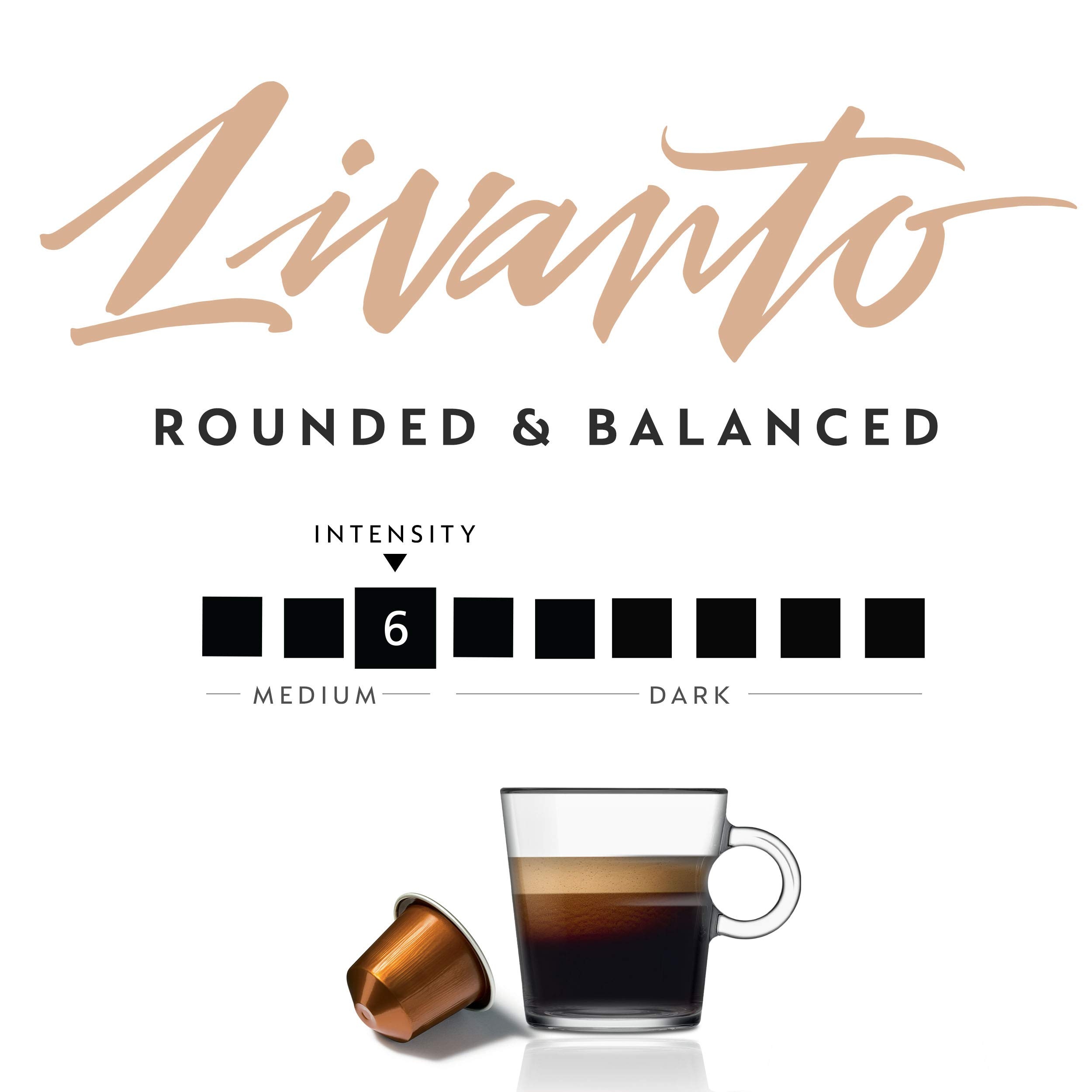 Livanto Best Nespresso Capsules