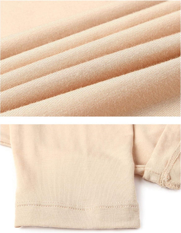 Women's Ultra Soft Thermals Underwear Bottom Base Layer Long Johns Leggings Rose Red M Cotton
