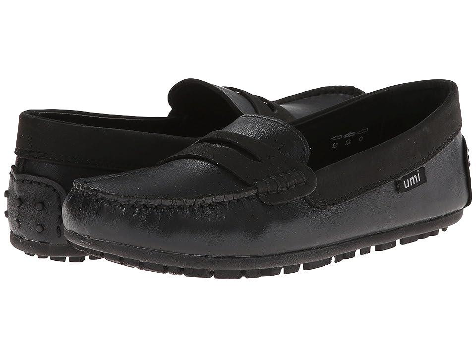 Umi Kids Morie II (Little Kid/Big Kid) (Black Napa) Girls Shoes