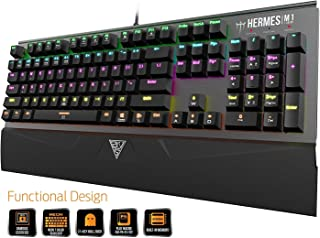 GAMDIAS Hermes Negro marrón M1 Layout UK