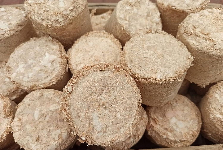 Briquetas de madera de aliso, briquetas para chimenea, estufa, ahumado, madera de aliso, 20 kg