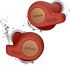 Jabra Elite Active 65t True Wireless Sports Earbuds Bluetooth in-Ear Headphones with Earphones Charging Case & One-Touch Amazon Alexa & 15 Hours Battery, Copper Red