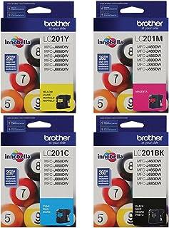 Brother MFC-j485DW Black/Cyan/Magenta/Yellow Original Ink Standard Yield (260 Yield)