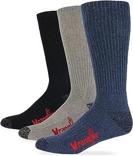 Wrangler Cotton Boot Sock 3 Pack, Color Assort, W 10-12/M 8.5-10.5