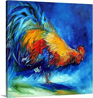 GREATBIGCANVAS Gallery-Wrapped Canvas Rooster Hunting by Marcia Baldwin 12