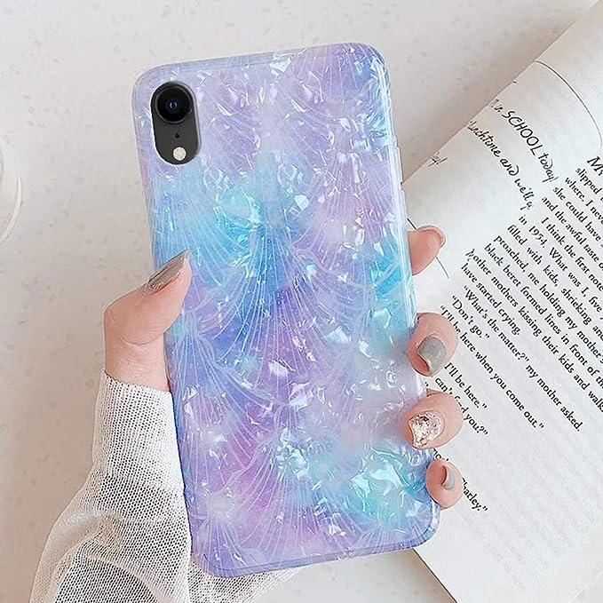 QPOLLY Cover Brillantini Compatibile con iPhone 11 Pro Custodia Bling Glitter Luminosa Design PC Duro Morbido Silicone TPU Gomma Bumper Ultra Sottile Placcatura Antiurto Cover,Argento