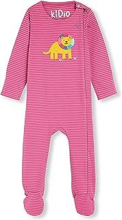 Algodón orgánico con Aplique - Bebé Niña Niños pequeños - Pelele para Dormir - Pijama Entero (0-24 Meses)