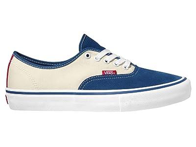 Vans Authentic Pro (Stv Navy/Classic White) Skate Shoes
