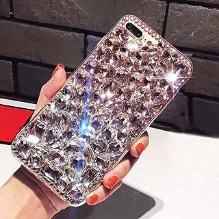 "Bling Diamond Case For Samsung Galaxy Note 20 6.7"",Aearl 3D Homemade Luxury Sparkle Crystal Rhinestone Shiny Glitter Full ..."