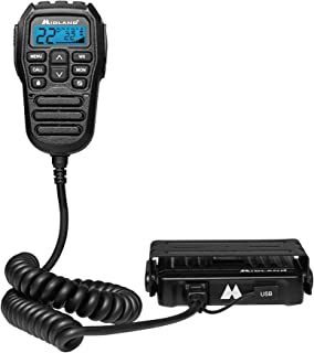 Midland MXT275 MicroMobile 15W GMRS Two-Way Radio with Integrated Control Microphone