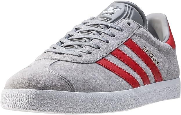 adidas Gazelle J W chaussures,Blanc/Rouge, 35 1/2 EU : Amazon.fr ...